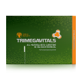 Food supplement Trimegavitals. All-Natural Beta Carotene in Sea Buckthorn Oil, 30 capsules