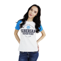 Siberian Super Team CLASSIC T-shirt for women (color: white, size: M)